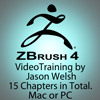 Zbrush 4 Video Training Box Set by Jason Welsh