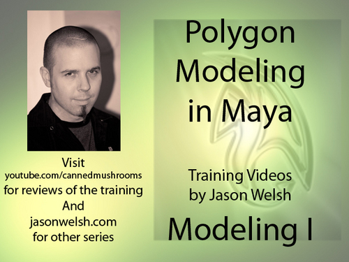 Product picture Maya Modeling I Lesson files